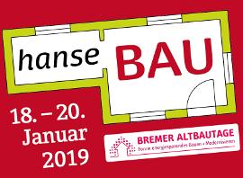 Logo der Hansebau und Bremer Altbautage vom 18.-20. Januar 2019
