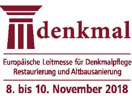 Leitmesse Denkmal Leipzig 08.-10. November 2018