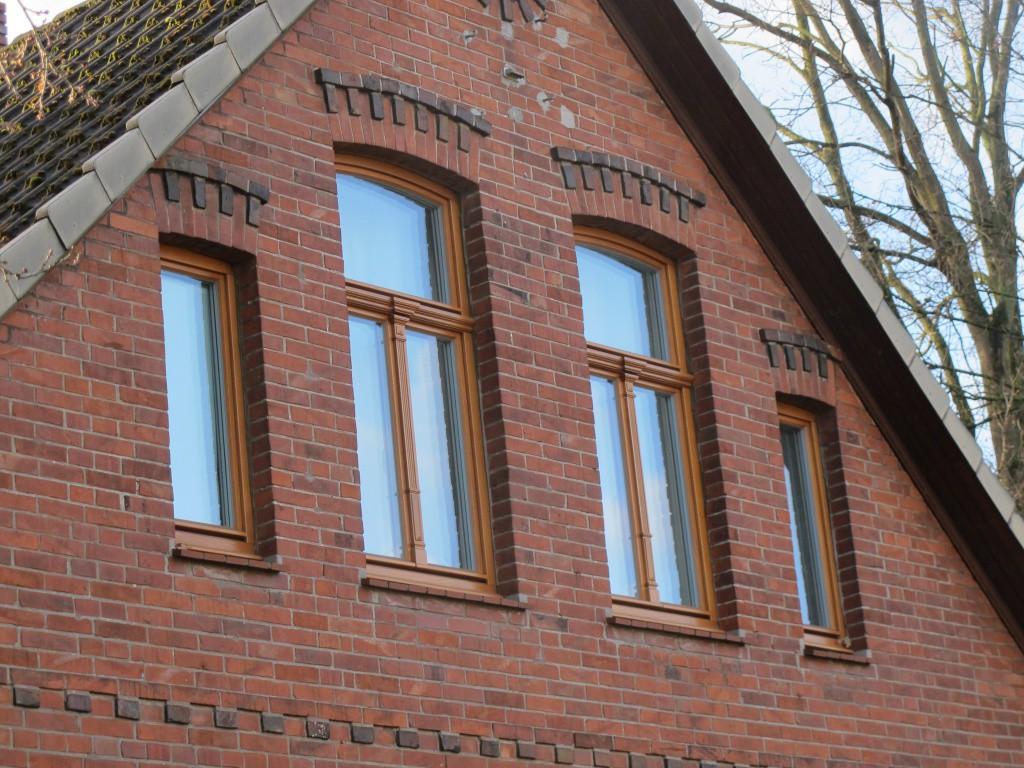 auswärtsöffnende holzfenster, ökologisch, bremen