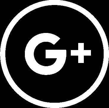 googleplus social media logo white