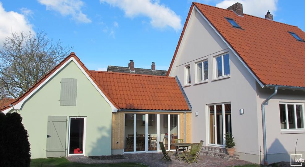 1 häuser dänische fenster